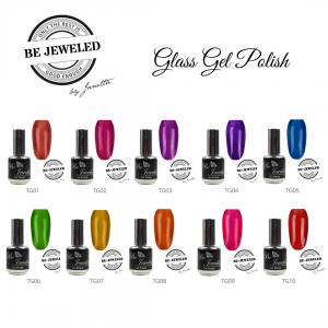 Be Jeweled Glass Gel